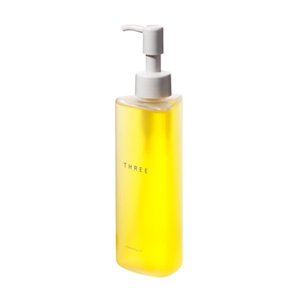 Photo1: THREE Cleansing Oil (1)