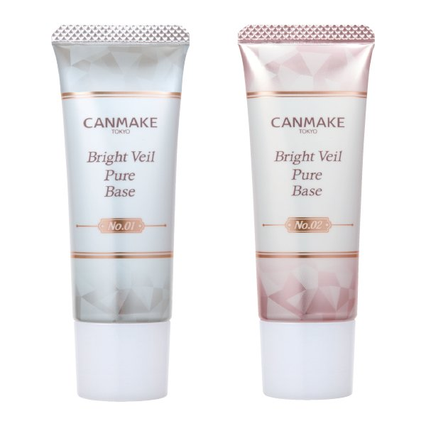Photo1: Canmake Bright Veil Pure Base (1)